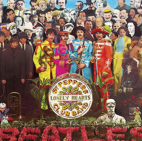 La portada de Sgt Pepper's Lonely Hearts Club Band